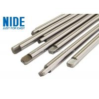 Quality High Polished Electric Motor Spare Parts Smooth Concentric Shaft Or Spindle for sale