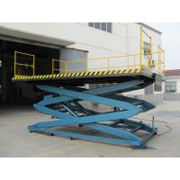 Quality Portable Electric Hydraulic Scissor Lifting Platform SJG 0.9 / 1 / 2 / 4 for sale