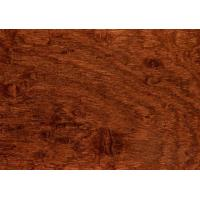 Quality Non - Deforming Square Edge Hardwood Flooring Good Heat And Sound Insulation for sale