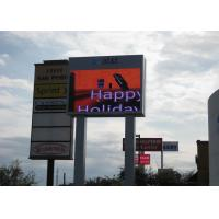 China 10mm Outdoor LED Billboards Full Color , Commercial SMD3528 Advertising LED Display on sale