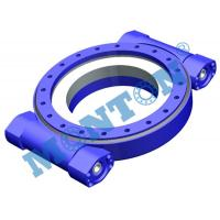 Quality Precise Worm Gear Slew Drive , Hydraulic Slew Drive Fit Solar Tracking System for sale