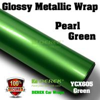 Quality Glossy Metallic Car Wrapping Film - Glossy Metallic Green for sale