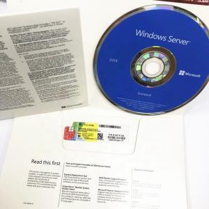 Quality Genuine Windows Server 2019 Standard Edition DVD 64 Bits 100% Online Activation for sale