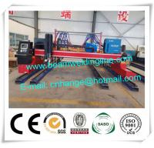 Quality Table Type CNC Plasma Cutting Machine , Hypertherm Gantry Type Plasma Cutting Machine for sale