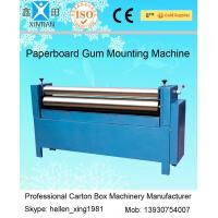 Best Manual Feeding Sheet Pasting Machine to Make Single Facer Corruagted Board wholesale