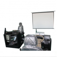 Quality Projector Car Simulator Can Be Connected To An External Display To Learn Car Simulator Projector Car Simulator for sale