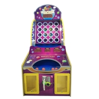 Quality Children Video Arcade Pitching Coin Operated Game Machine for sale