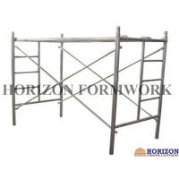 Quality Multi - Function Ladder Frame Scaffolding Q235 Steel Pipe For Construction Work for sale
