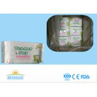 Quality Water Based Adult Baby Wipes For Sensitive Skin / Disposable Wet Tissue Wipes for sale