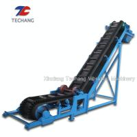 Quality PVC Belt Conveyor Machine Large Capacity For Bulk Materials Loading / Sorting for sale