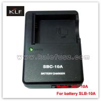 Quality Camera Charger SBC-10A For Samsung Battery SLB-10A for sale