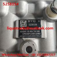 Quality BYC pump 5258154 , CPES6P120D120RS , 10404716046 , 10 404 716 046 , Cummins 11 415 186 003 , 11415186003 for sale
