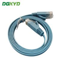 Quality Ethernet Patch Cable Rj45 Utp Cat6 Flat Ethernet Cable With CE / UL / Certification for sale