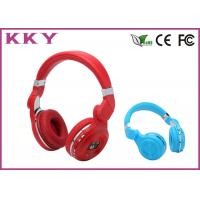China Red / Blue Splendid Apple IPhone On Ear Bluetooth Headset For Music Lover on sale