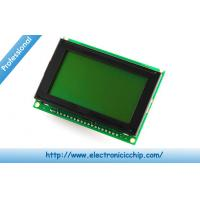 China 128x64 LCD Character Display Serial 220mA no parity , Graphic LCD Display 3 x 2 x 0.6 on sale