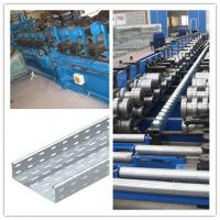 Quality material thickness 1.6 to 2.5mm cable tray roll forming machine drive way 1.5 inch Chain fast for sale