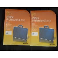 Quality Global Area Ms Office 2010 Professional Retail Box 32 & 64 Bit DVDs for sale