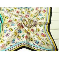 China Square Silk Scarf 013 on sale