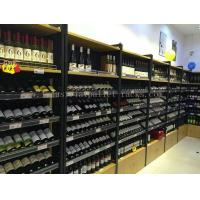 Best Wine Display Rack Light Duty Shelving Wall Mounted 1200mm * 400mm * 2200mm wholesale
