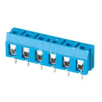 Quality TB 3.81mm pitch 2P 3P make to XXXP 300V 16A pcb board use screw terminal block blue color for sale