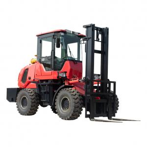 Quality all-terrain forklift FD30 for sale