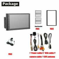 Quality Car DVD Player Headunit Android System Universal 7inch 1+16G Android 10.0 for sale