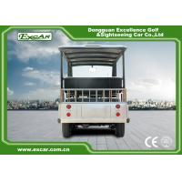 Buy Durable 72V 7.5KM Electric Sightseeing Car With Storage Basket Climbing Capacity at wholesale prices