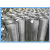 Quality Ultra Fine Stainless Steel Woven Wire Mesh Sheets , 316L 30 Micron Woven Wire Cloth for sale