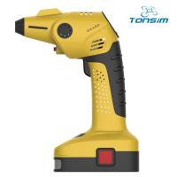 China Tonsim mini cordless air compressor air filter With flashlight on sale