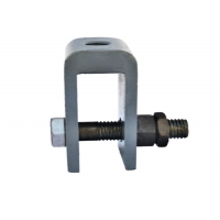 Quality Q235 508mm Shift Spring Hanger Supports Connecting U-Shaped Ears for sale