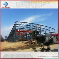 Quality Showhoo Steel Structure Types Of Construction Steel Structure Metal Shed Building Warehouse for sale