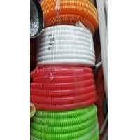 Quality Flexible PVC Corrugated Flexible Tubing Small Bending Radius Chemical Resistant for sale
