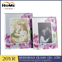 Quality Sizes 180*230*15MM Beautiful Family Photo Frames , Small Glass Photo Frame for sale