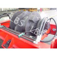 Quality Marine Windlass Winch / Windlass Boat Anchor Winch Lebus Grooves Type for sale