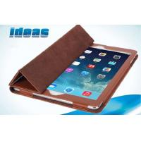 Quality Triangle Bracket Apple iPad Leather Cases / Apple Ipad Air Cover for sale