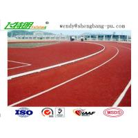 Outdoor Sport Polyurethane Running Athletic Track Synthetic Running Track