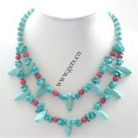 China Turquoise jewelry-turquoise necklace on sale