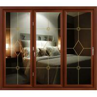 China Champagne, white powder coated aluminum bifold doors for residential buliding on sale