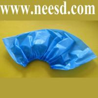 Quality Cleanroom Blue CPE Shoe Cover for sale
