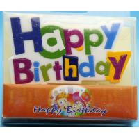 China Colorful Alphabet Letter Birthday Candles For Party Decoration SGS Approval on sale