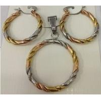 Quality Cheap Wholesale Jewelry Fashion Pendant and Earrings Jewelry Sets for Women for sale