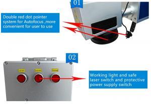 Quality Inkjet Date Printer 70kg 30W Laser Coder for sale