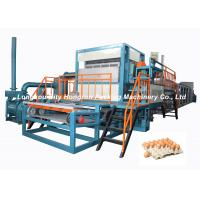 China Full - Automatic Egg Tray Machine Diesel Oil Fuel Type / Pulp Molding Equipment on sale