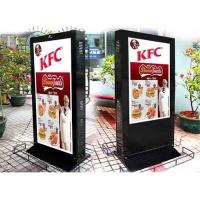 Quality Sunlight Readable Electronic Poster Display , Remote Control Digital Signage Stand for sale