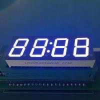 Buy cheap Common Anode Ultra white 4 Digit 0.56inch 7 Segment LED Clock Display for from wholesalers