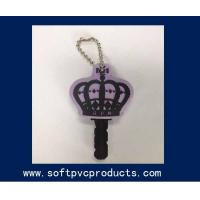 Quality Key Cover Soft PVC Customized Key Chains / Rubber Keychain for Decoration or Souvenir for sale