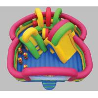 Best 18 * 6 m Color Playground Fun Game Children's Playground Inflatable Obstacle wholesale