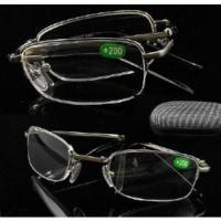 Quality UV400 Folding Reading Glasses Readers With Case for sale