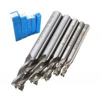 Quality HSS CNC Straight Shank 4 Flute End Mill Milling / Fully Ground Cutting Drill Bit for sale