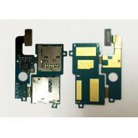 Best Samsung E210L Mobile Spare Parts Genuine SIM SD Card Holder Flex Cable With Connector wholesale